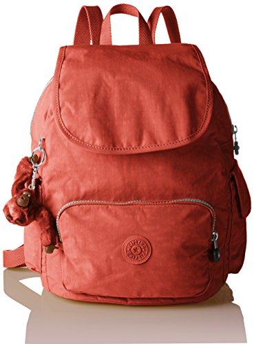 Imagen de kipling city pack s, bolso de  para mujer, rojo 78g red rust , 27x33.5x19 cm b x h x t