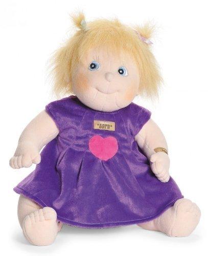 0cm Original Ida Soft Puppe (Waschbar Haar-spray-farbe)