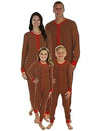 Riou Weihnachten Baby Kleidung Set Kinder Pullover Pyjama Outfits Set Familie Kleinkind Weihnachten Familie Striped... preisvergleich bei kinderzimmerdekopreise.eu