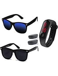 New Arrival Special Collection Black Color Unisex Silicone Rubber Touch Screen Digital Watch LED Band Wrist Watch Ideal for Boys, Girls, Men, Women (SNLD-088)
