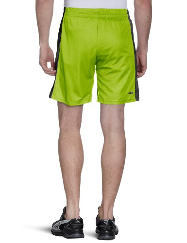 PUMA Herren Hose Powercat 5.12 Shorts with Inner Slip Lime Punch-dark Shadow