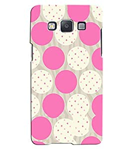 Citydreamz White Pink Dots/Hearts Hard Polycarbonate Designer Back Case Cover For Samsung Galaxy J3