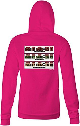 Zurück in die Zukunft ★ Confortable veste pour femmes ★ imprimé de haute qualité et slogan amusant ★ Le cadeau parfait en toute occasion pink