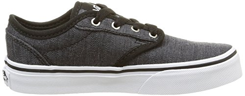 Vans Jungen Atwood Sneaker Schwarz (distress/black/white)