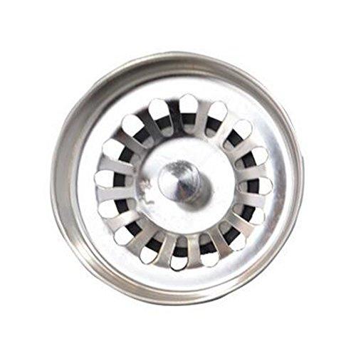 Preisvergleich Produktbild Küche Spüle Sieb Edelstahl Küchenspüle Waschbecken Abfall Plug Abtropfgestell
