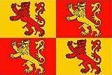 1000 Flags Wales-Flagge, Motiv: Owain Glyndwr, Walisischer Drache, zum Anbringen an eine Fahnenstange, für das Boot und Baumhaus, 45cm x 30cm