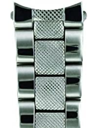 De acero inoxidable reloj de pulsera Zeno 20 mm Ref, A-MT-PSB-20