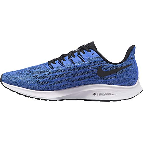 Nike Air Zoom Pegasus 36, Scarpe da Trail Running Uomo, Multicolore (Racer Blue/Black/White 400), 42 EU