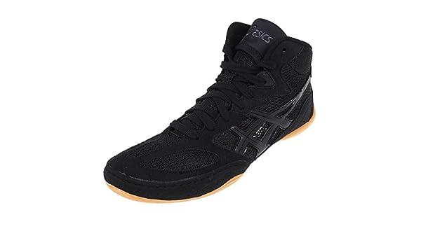 Noir Chaussures Nr Lutte Asics 4 Taille Matflex De Gel QderxoECBW