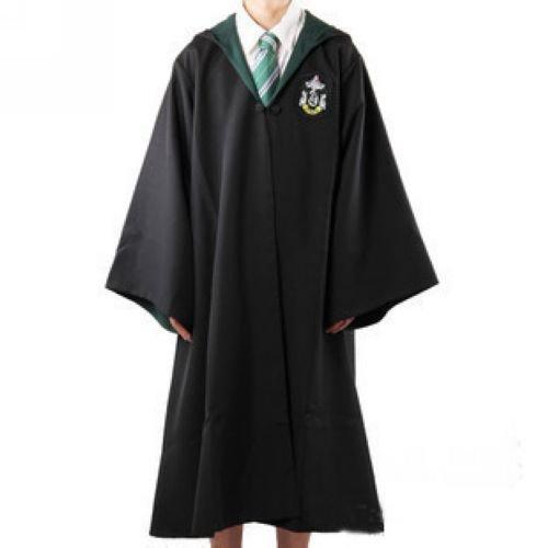 Harry Potter Slytherin Adult Robe Size M Dress Costume