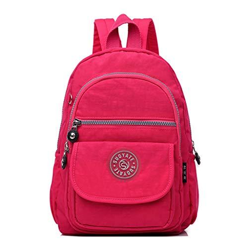 DQANIU ❤️ Vielseitige Rucksäcke, Unisex-Damen- / Herrenmode Rucksack mit großer Kapazität Nylon wasserdichte Reisetaschen Schultasche kaufen