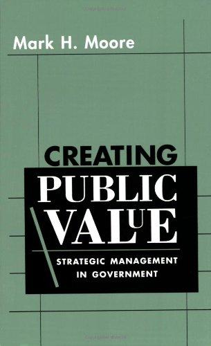 Creating Public Value: Strategic Management in Government por Mark H. Moore