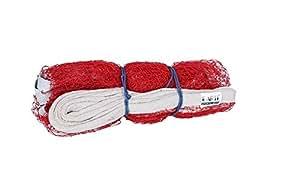 ILARTE Badminton Net Nylon (Red)
