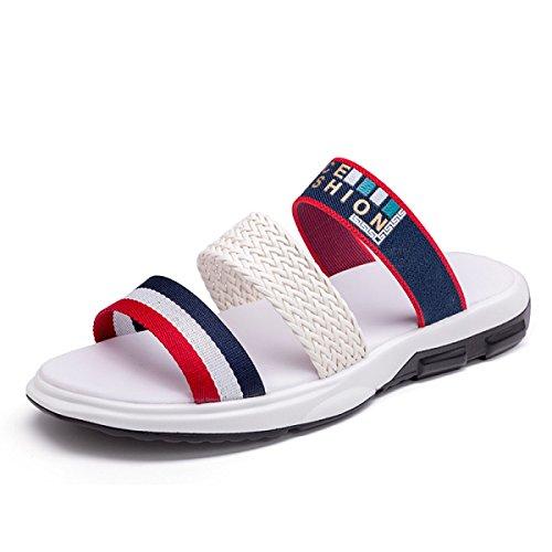 Sandales Sandales Pour Hommes Pantoufles Chaussures échassiers En Plein Air White