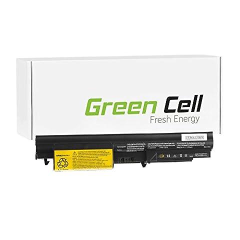 Green Cell® Standard Series Battery for Lenovo IBM ThinkPad T61 7659 Laptop (4 Cells 2200mAh 14.4V Black)