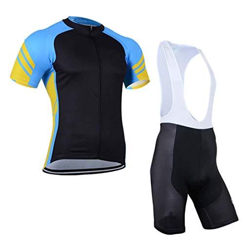 2019 Pro Team Black Cycling Jerseys Set MTB Clothing bib Short Shirt 9D Gel PAD Ropa Ciclismo Bike Wear Maillot Culotte CSO-2 1 L -