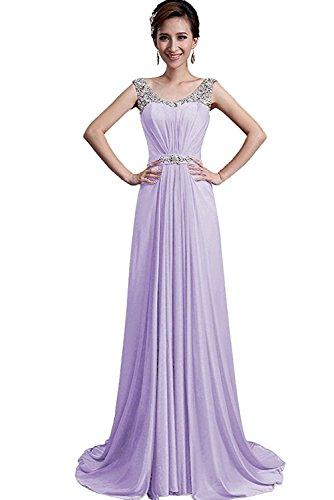 Victory Bridal Navy Blau Damen Festlichkleider Abendkleider Partykleider Mit Steine Lang A-linie Rock Dunkel Navy