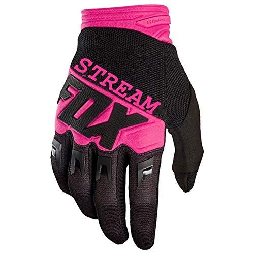 Motorradhandschuhe Motocross Handschuhe MTB Off Road MTB Handschuhe Mountain Bike Handschuhe (Color : Pink, Size : M)