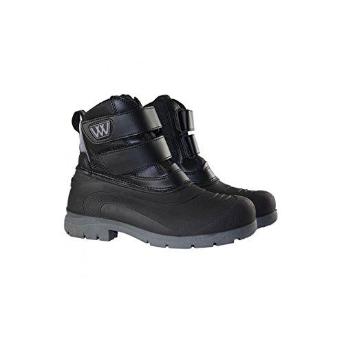 woof-wear-new-junior-short-yard-boots-black-child-size-5
