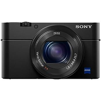 Sony DSC-RX100 IV Digitalkamera (21 Megapixel, 3-fach opt Zoom, 11-fach digital Zoom, 7,6 cm (3 Zoll) Display, Pop-Up-Sucher, 24-70 mm ZEISS Vario-Sonnar T*) schwarz