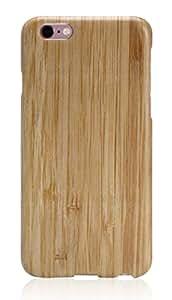 iPhone 6 Plus / iPhone 6s Plus Hülle PITAKA Schutzhülle aus Hochwertigem Bambus und Aramidcore Dünne Case mit Glas Shutzfolie (5,5 Zoll)