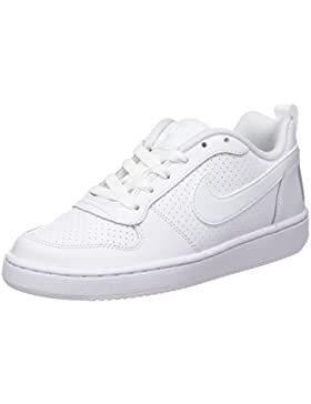 NIKE Court Borough Low (GS), Zapatillas de Baloncesto para Niños