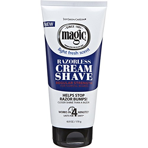 Magic Fragrant Shave Cream 177 ml Tube Depilatory (Creme) (Skin Magic Care Creme)