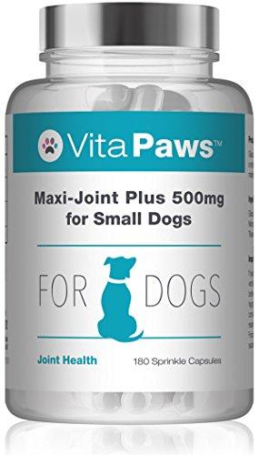 Maxi-Joint Plus 500mg per cani di piccola taglia - 180 Capsule - Per la Salute delle Articolazioni - Vitapaws di SimplySupplements