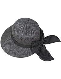 Kentop Fischer Sombrero Mujer Verano Sombrero Sombrero de Playa Mujer Lazo  Sombrero Verano Sombrero Sombrero de 3128241dd10