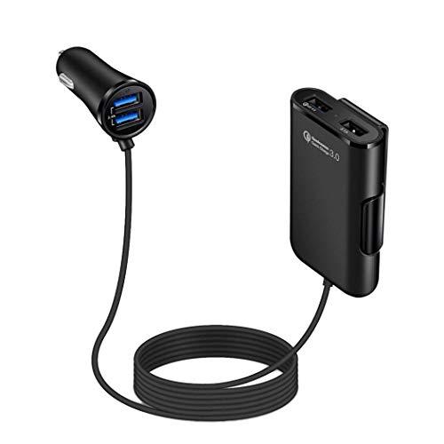 Caricabatteria da Auto 4 Porte USB rapido