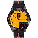 DIGGRO DI02 - Smartwatch mit Herzfrequenz Sensor (Uhr, Bluetooth4.0, Armbanduhr, NFC, Bluetooth Telefon, Pulsmesser Aktivitätstracker Schrittzähler Schlafanalyse Kalorienzähler für ios Android) (Schwarz)