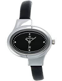 Maxima Attivo Analog Black Dial Women's Watch - 25201LMLI