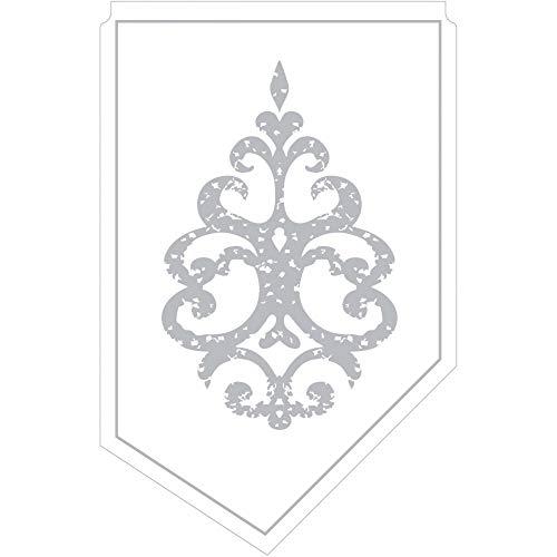 Kännchenanfasser Royal Line Silber aus Tissue 9-lagig, 100 x 65 mm, 150 Stück