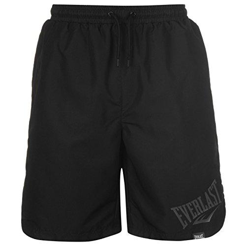 everlast-homme-tisse-taille-elastique-short-bermudas-calecon-sport-casual-homme-noir-m
