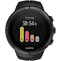 Suunto Unisex Adult Spartan Ultra Titanium GPS Watch with Colour Touch Screen and Sapphire Crystal, Black Titanium, One Size