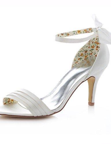WSS 2016 Chaussures de mariage-Ivoire-Mariage / Habillé / Soirée & Evénement-Talons-Sandales-Homme 3in-3 3/4in-ivory