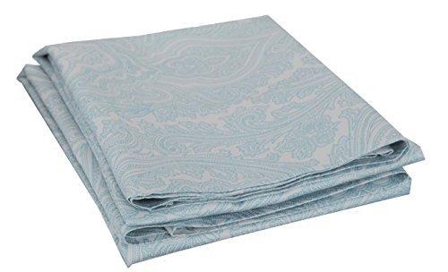 knitterfrei marrikas 600tc Kissenbezüge Paar (2) Standard blau Paisley -