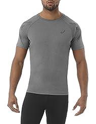 Asics Herren Stripe Shortsleeve T-Shirt
