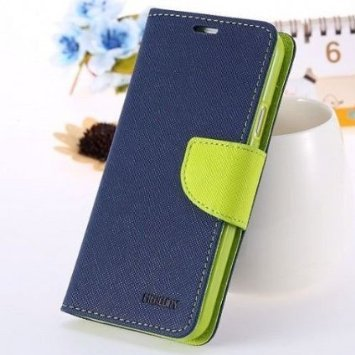 Micromax Unite A092 Mercury Flip Wallet Diary Card Case Cover (Blue/Green) By Mobile Life  available at amazon for Rs.179