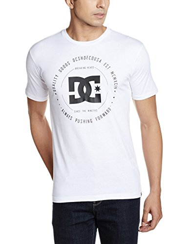 DC Shoes Herren Rebuilt 2 Ss T-Shirt weiß - Snow White