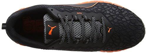 Puma Speed Ignite Trail, Scarpe Sportive Outdoor Uomo Nero (Black-shocking Orange-quiet Shade)