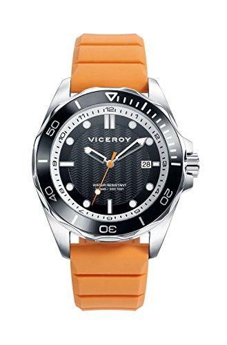 Viceroy Hommes Analogique Quartz Montre avec Bracelet en Silicone 471161-57