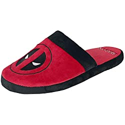 Groovy Deadpool Slippers Logo Size L Marvel Calzature