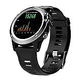ZY H1 Reloj Inteligente IP68 Impermeable Deportes Estudiante Tarjeta de Adultos GPS posicionamiento GPS Ritmo cardíaco 3GWIFI,Silver