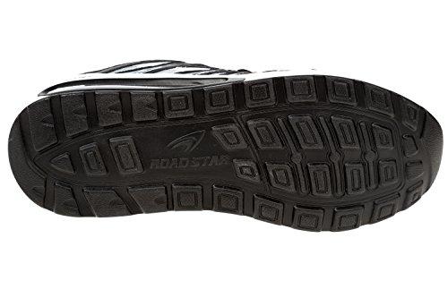 Gibra® Scarpe Sportive Da Uomo, Molto Leggere E Comode, Nero / Bianco, Taglia 41-46 Nero / Bianco