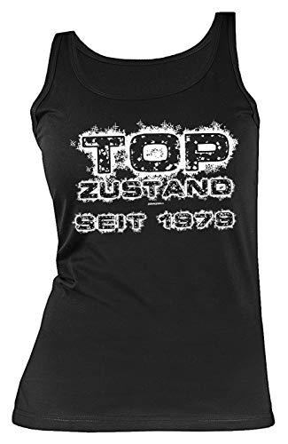 Geburtstag 40 Jahre Geschenk Damen Shirt Leiberl Mama Geschenk Zum 40 Geburtstag Tank Top Tanktop Freundin Geburtstagsgeschenk Top Zustand Seit 1978 Gr: S