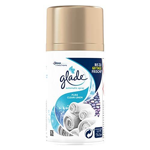 Glade (Brise) Automatic Spray Nachfüller für Lufterfrischer Gerät, Pure Clean Linen, 2er Pack (2 x 269 ml)