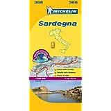 Sardegna Michelin Local Map 366 (Michelin Regional Maps)