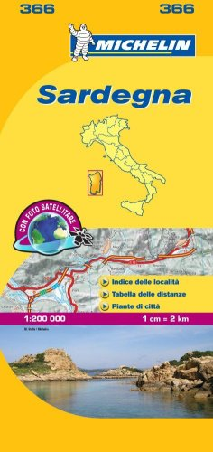 Mapa Local Italia Sardegna (Mapas Local Michelin) por MICHELIN