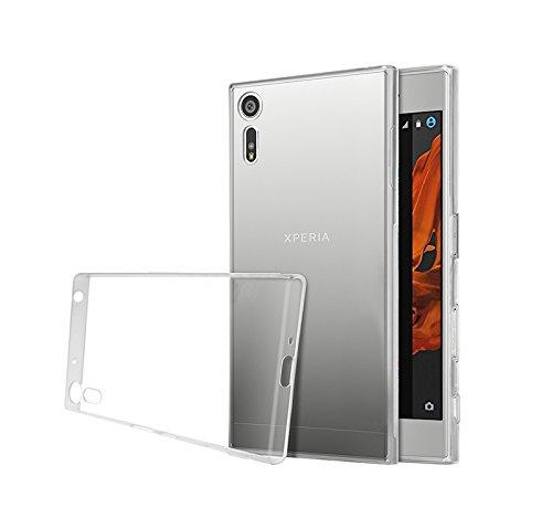 Minto Ultradünn TPU Hülle iPhone 8 Plus / iPhone 7 Plus Silikon Schutzhülle Handyhülle Case Crystal Cover Durchsichtig transparent 0.6mm Xperia XZ / XZs